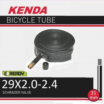 """Kenda 29x2.0/2.40"""" 35mm Schrader Valve Tube"""