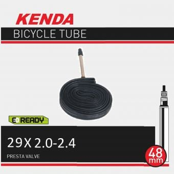 """Kenda 29x2.0/2.40"""" 48mm Presta Valve Tube"""