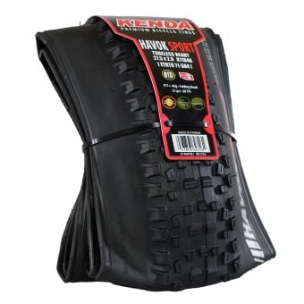 Kenda Havok Sport 27.5x2.8 (650B) TR Folding Tyre Black