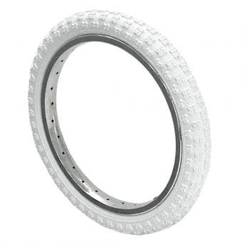 Kenda K50 12-1/2x2-1/4 Knobby Tread Tyre White
