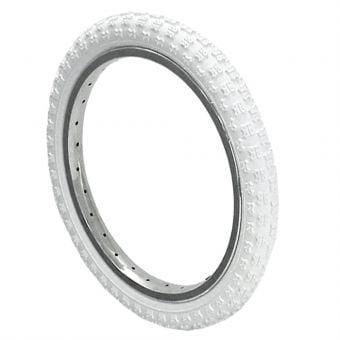 Kenda K50 16x2.125 Knobby Tread BMX Tyre White