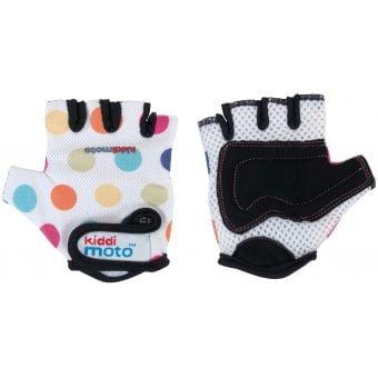 Kiddimoto Gloves Pastel Dotty 2017