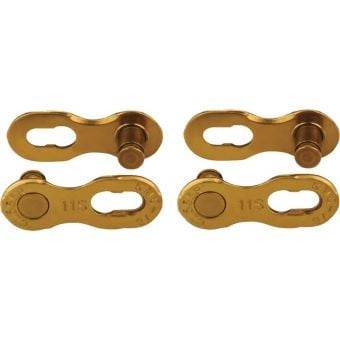 KMC Missing Link 11 Speed Reusable Chain Connector Gold