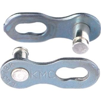 KMC Missing Link 8R Reusable Chain Connector (Pair) Silver