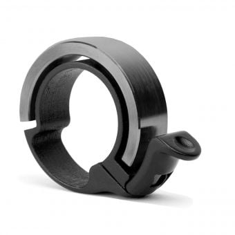 Knog Oi Bike Bell Large Black Low Profile