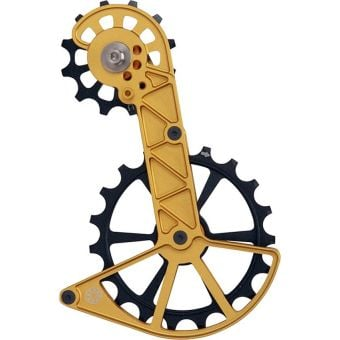 Kogel Kolossos Oversized Derailleur Pulley Cage (Shimano RX800) Gold