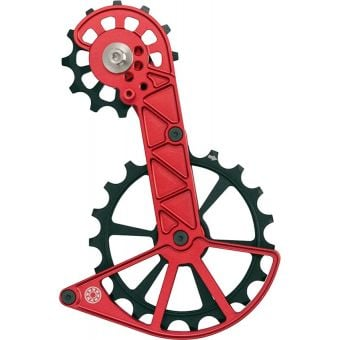 Kogel Kolossos Oversized Derailleur Pulley Cage (Shimano RX800) Red