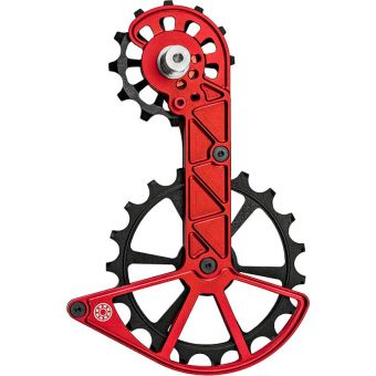 Kogel Kolossos Oversized Derailleur Pulley Cage (Shimano R9100) Red