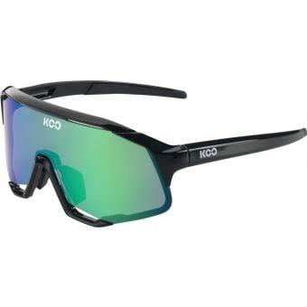 KOO Demos Sunglasses Black (Green Mirror Lens)