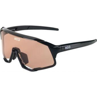 KOO Demos Sunglasses Black (Pink Lens)