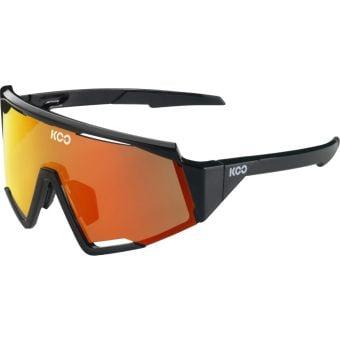 KOO Spectro Sunglasses Black (Red Mirror Lens)