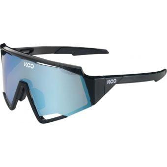 KOO Spectro Sunglasses Black (Turquoise Lens)