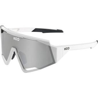 KOO Spectro Sunglasses White (Super Silver Lens)