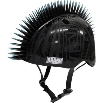 Krash Black Gator Helmet Youth Medium