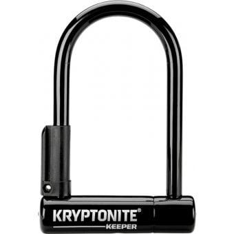 Kryptoninte Keeper Mini-6 U-Lock 8.3cm x 15.2cm Black