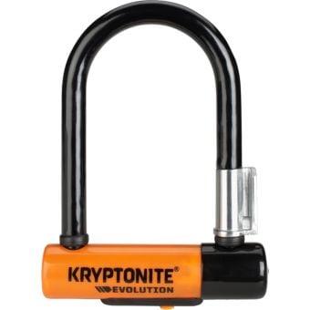 Kryptonite Evolution Mini-5 U-Lock 8.3cm x 14cm Black/Orange
