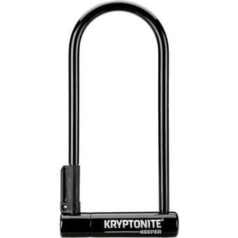 Kryptonite Keeper LS U-Lock 10.2cm x 25.4cm Black