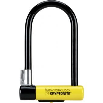 Kryptonite New York Standard U-Lock 10.2cm x 20.3cm Black/Yellow