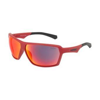Lazer Frank Casual Sunglasses Matte Red (Orange Lens)