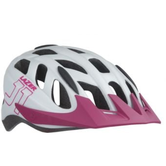 Lazer J1 Youth Helmet Unisize White/Pink