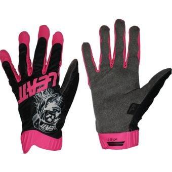 Leatt 1.0 GripR Limited Edition MTB Gloves 80s Skull
