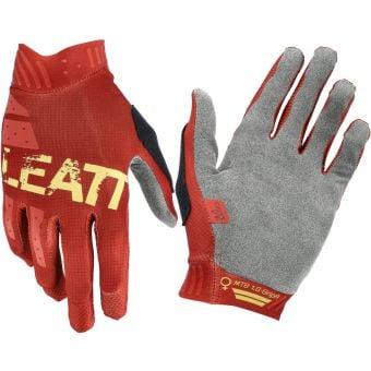 Leatt 1.0 MTB GripR Womens Gloves Copper 2021