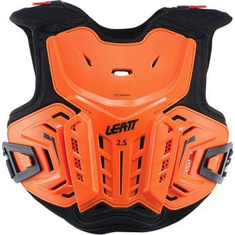 Leatt 2.5 Junior Hard-Shell Chest Protector Orange/Black