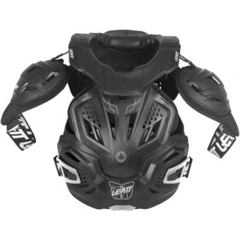 Leatt 3.0 Fusion Hard-Shell Chest Protector Black