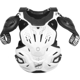 Leatt 3.0 Fusion Hard-Shell Chest Protector White