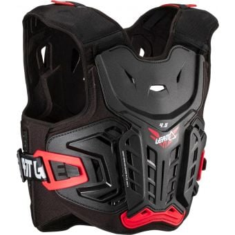 Leatt 4.5 Junior Hard-Shell Chest Protector Black/Red