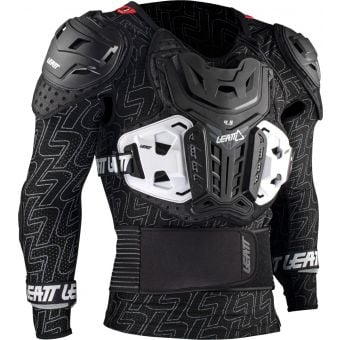 Leatt 4.5 Pro Hard-Shell Body Protector Black
