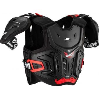 Leatt 4.5 Pro Junior Hard-Shell Chest Protector Black/Red