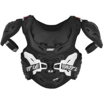 Leatt Chest Protector Body Armour 5.5 Pro HD Junior Black/White