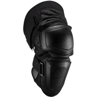 Leatt Enduro Hard-Shell Knee Guard Black