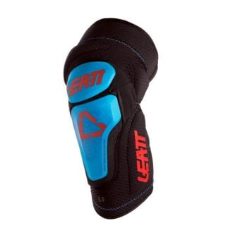 Leatt 3DF 6.0 Knee Guards Fuel/Black