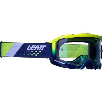 Leatt Velocity 4.5 Iriz Goggles Neon Yellow w/Purple Lens