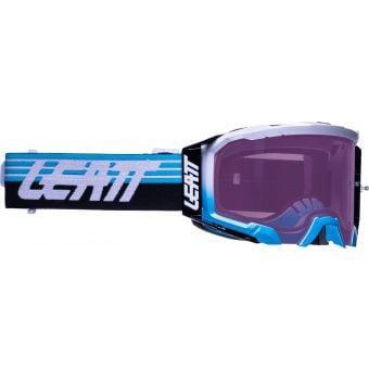 Leatt Velocity 5.5 Iriz Goggles Aqua w/Purple Lens