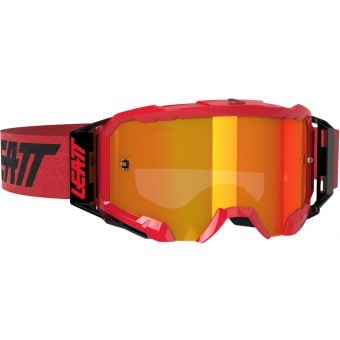 Leatt Velocity 5.5 Goggles Iriz Red With Red Lens