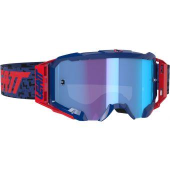 Leatt Velocity 5.5 Goggles Iriz Royal With Blue Lens