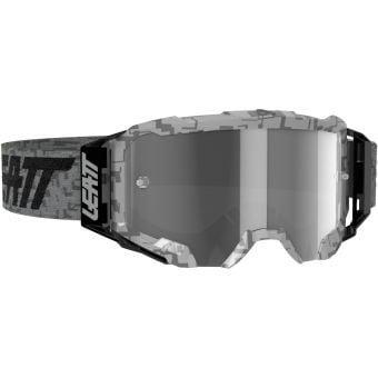 Leatt Velocity 5.5 Goggles Steel Light With Grey Lens