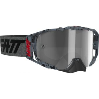 Leatt Velocity 6.5 Goggles Brushed/Grey With Light Grey Lens