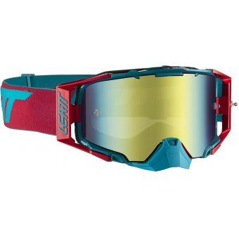 Leatt Velocity 6.5 Goggles Iriz Red/Teal With Bronze Lens