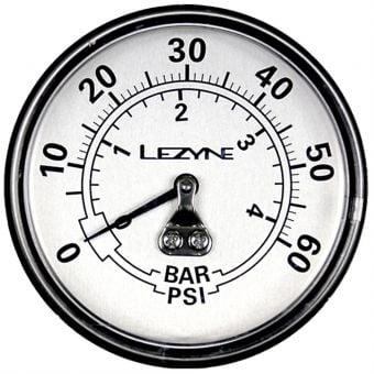"""Lezyne 60 PSI 2.5"""" Analogue Floor Pump Gauge Replacement"""