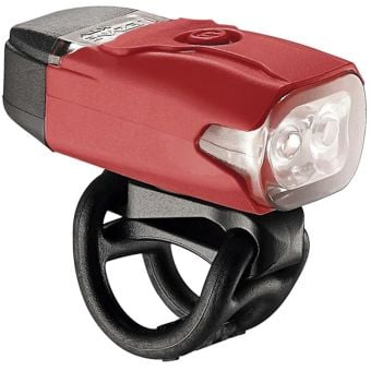 Lezyne KTV Drive LED 200lm USB Rechargeable Front Light Red