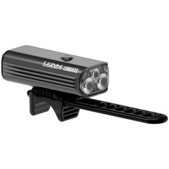 Lezyne Macro Drive 1300XXL USB 1300lm LED Front Light Hi-Gloss Black