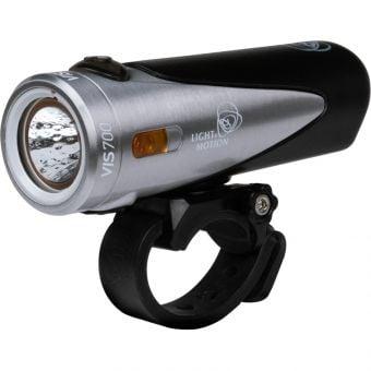 Light & Motion Vis 700lm USB Front Light Tundra Steel/Black