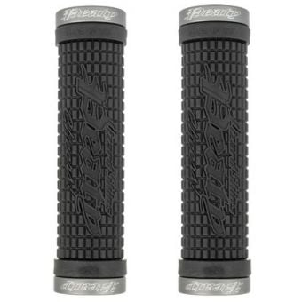 Lizard Skins Peaty Lock-on Grips Black