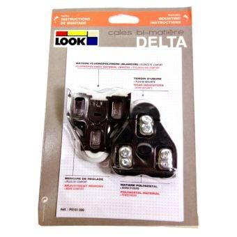 Look Delta Cleats Black