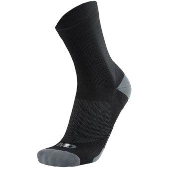 M2O Stealth 3/4 Cycling and Sports Compression Socks Black/Grey