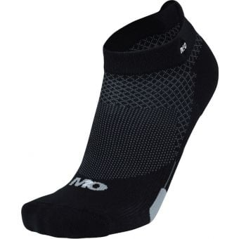 M2O Diamond Compression Ankle Socks Grey/Black